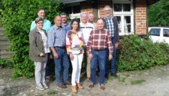 Spargelessen der Standortgruppe Faßberg im Mai 2019